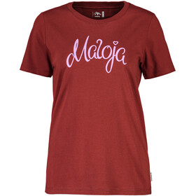 Maloja ChapisunM. T-Shirt Damen maroon